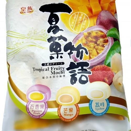 Моти ассорти тропические фрукты в пакете