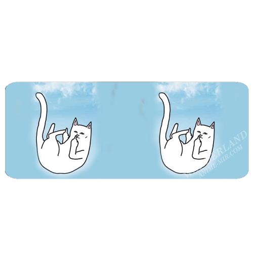Обложка на студенческий Кот Рип н Дип