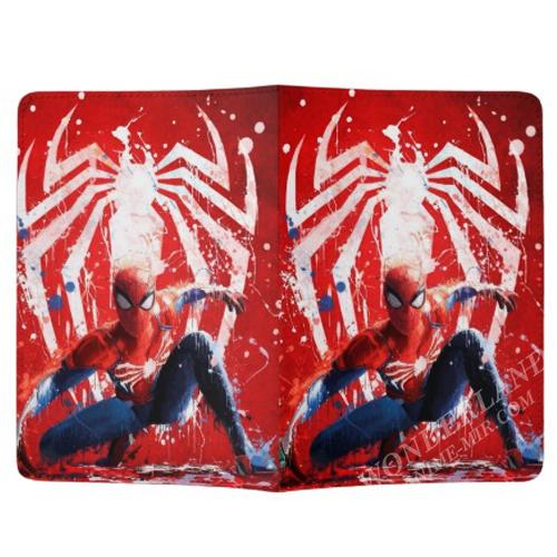 Обложка на паспорт Человек-паук новый