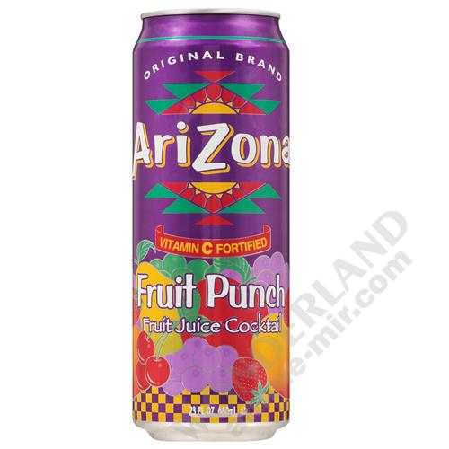 Напиток Аризона Фруктовый пунш банка 0,68л