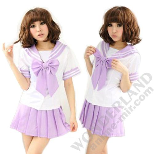 Японская школьная форма (фиолетовая)