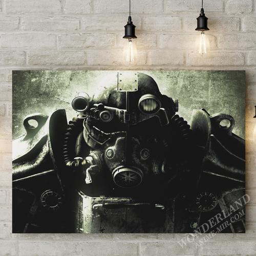 Картина Фоллаут Силовая броня