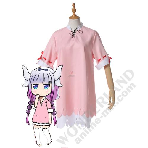 Косплей костюм Дракон-горничная Кобаяши - пижама / Канна