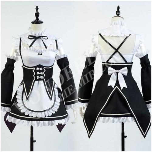 Косплей костюм горничных Ре:Зеро (Рам и Рем)