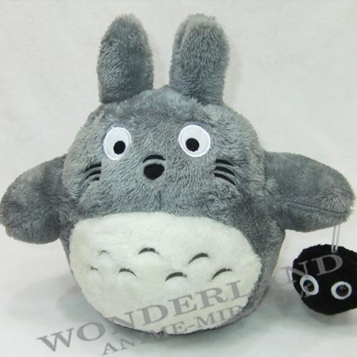 Плюшевая игрушка Тоторо с чернушкой