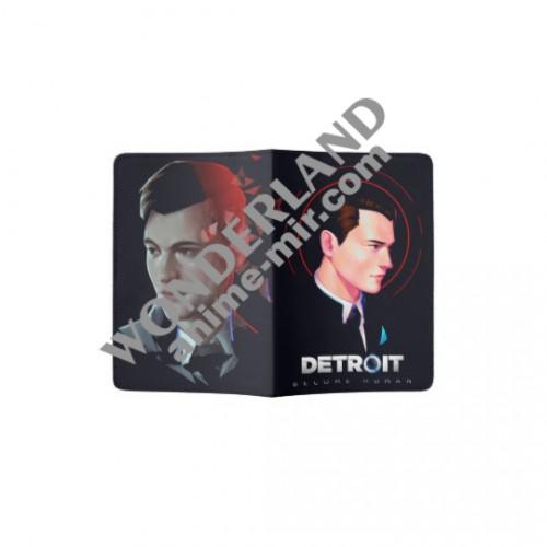 Обложка на паспорт Коннор Детроит