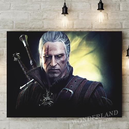 Картина Ведьмак