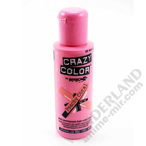 Краска для волос Crazy Color (Peachy Coral)