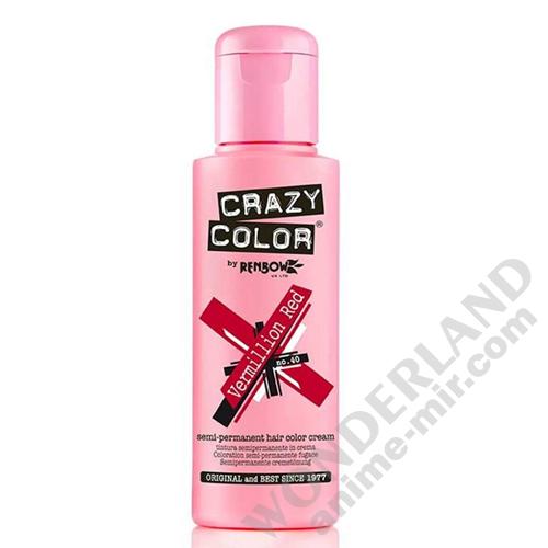 Краска для волос Crazy Color (Vermillion Red)