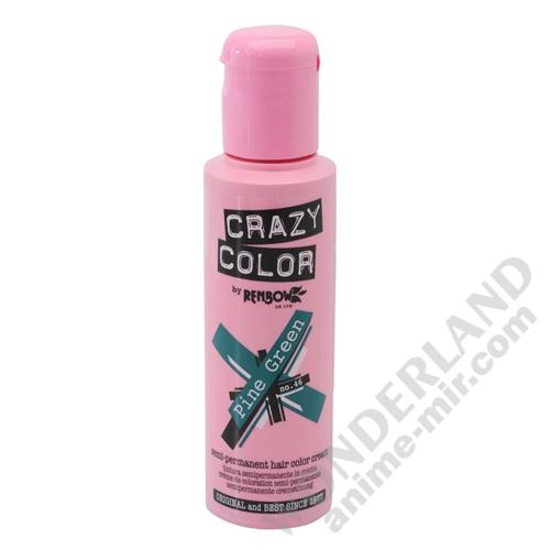 Краска для волос Crazy Color (Pine Green)