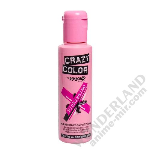 Краска для волос Crazy Color (Pinkissimo)