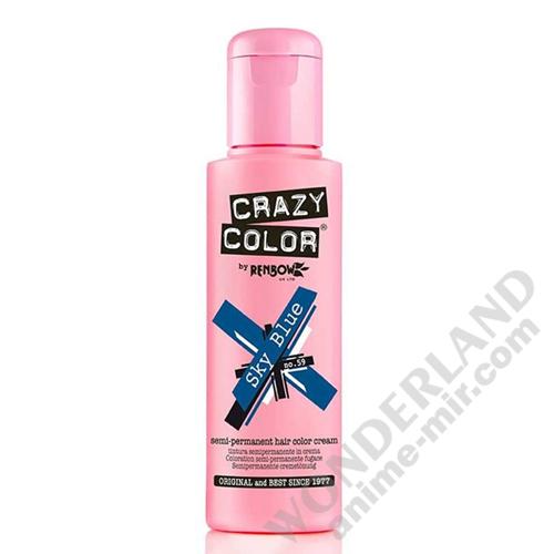 Краска для волос Crazy Color (Sky Blue)