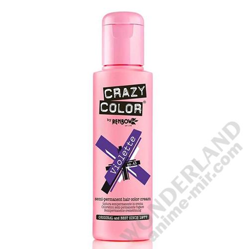 Краска для волос Crazy Color (Violette)