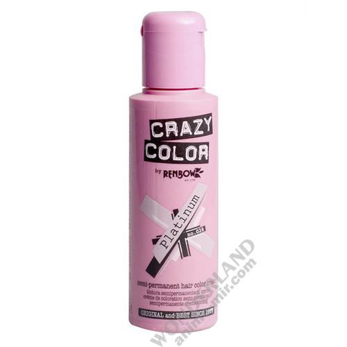 Краска для волос Crazy Color (Platinum)
