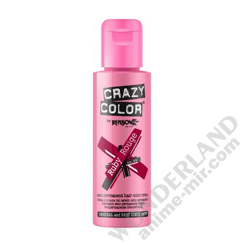 Краска для волос Crazy Color (Ruby Rouge)