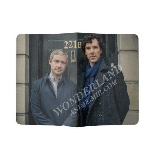 Обложка на паспорт Шерлок (221В)