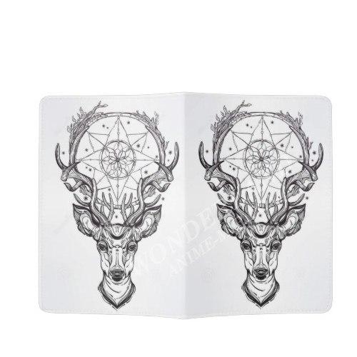 Обложка на паспорт Олень