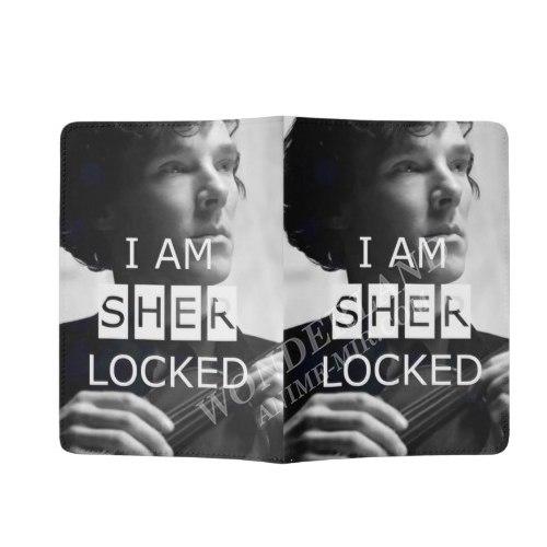 Обложка на паспорт Шерлок (I am Sherlocked)