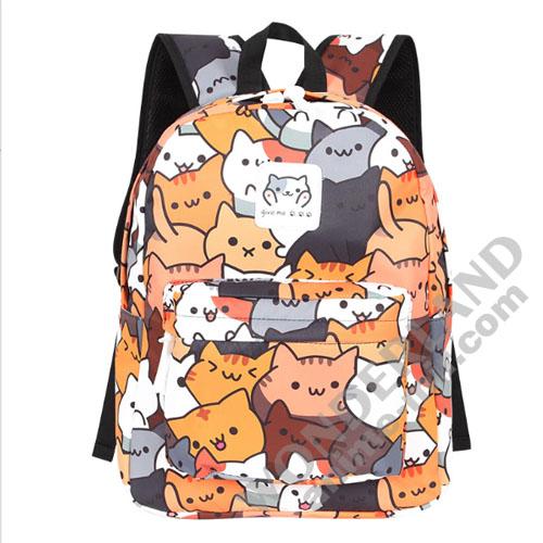 Рюкзак Неко атсуме (цветной)