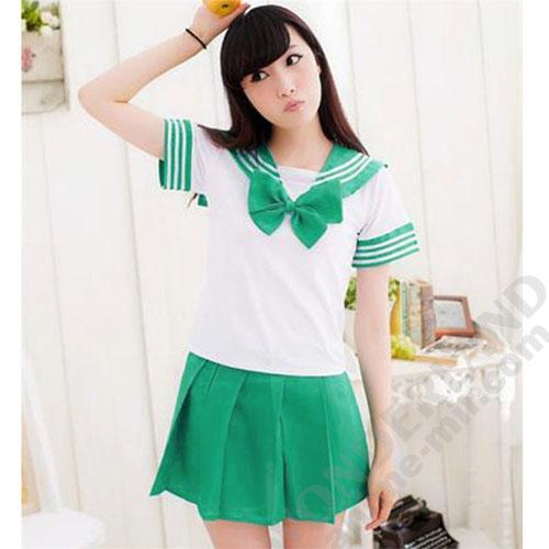 Японская школьная форма (зеленая)