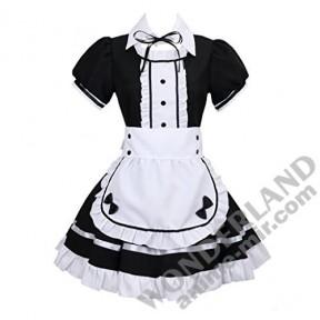 Косплей костюм горничной (черно-белый)