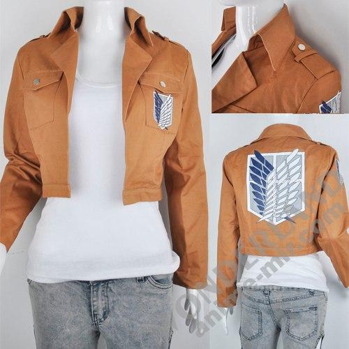 Косплей куртка Атака титанов