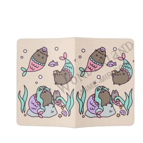 Обложка на паспорт Пушин-русалка