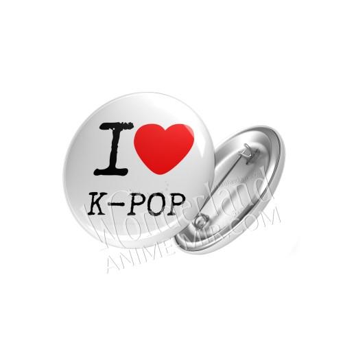 Значок Я люблю K-POP