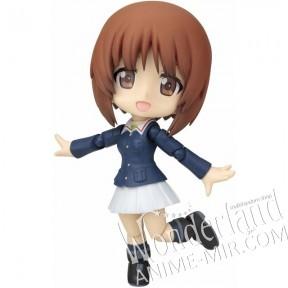 Оригинальная японская аниме фигурка нендороид Girls und Panzer (Девушки и танки) / Miho Nishizumi (Михо Нисидзуми)
