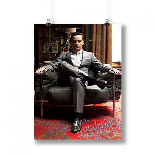 Плакат Шерлок (Мориарти на стуле)