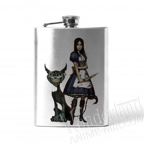 Фляга Алиса: возвращение безумия (Алиса и Чеширский кот)
