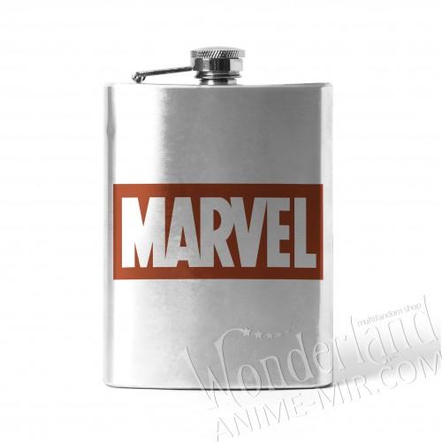 Фляга Марвел (логотип)