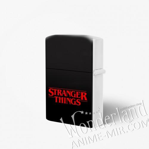 Зажигалка Очень странные дела / Stranger things (Логотип)