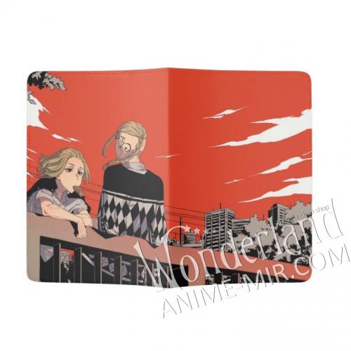 Обложка на паспорт Токийские мстители