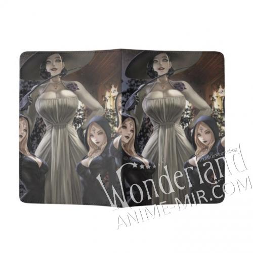 Обложка на паспорт Обитель зла / Resident evil (Димитреску и ведьмы)