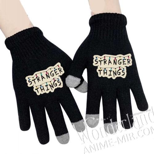 Перчатки Очень странные дела (логотип)