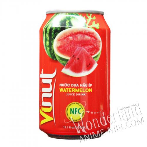 Напиток Арбуз с натуральным соком 350 мл (Vinut)