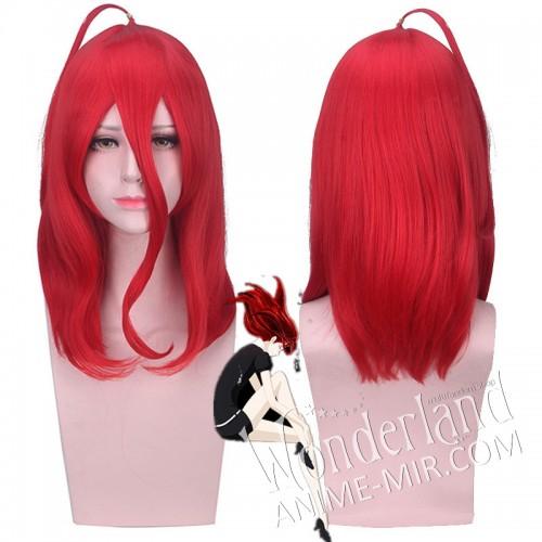 Косплей парик Страна самоцветов Киноварь (45 см)