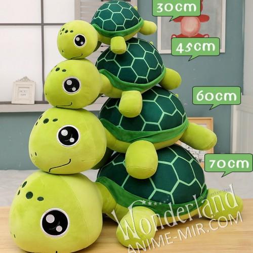 Плюшевая аниме игрушка Черепаха 45см