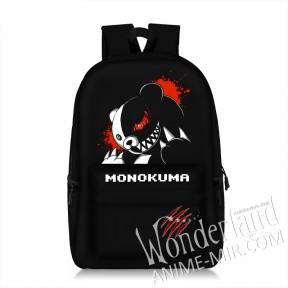 Аниме рюкзак Школа отчаяния (Монокума) / данганронпа