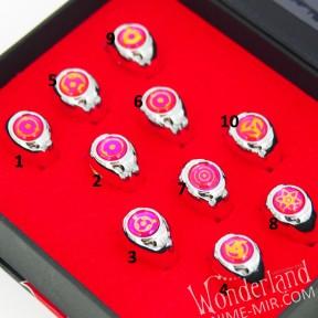 Розовое Кольцо Наруто (Шаринган)