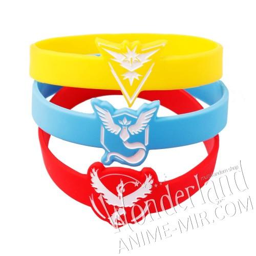 Резиновый браслет Покемон Гоу